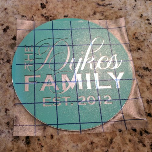 Glass Etching Gift Idea with EtchAll 4