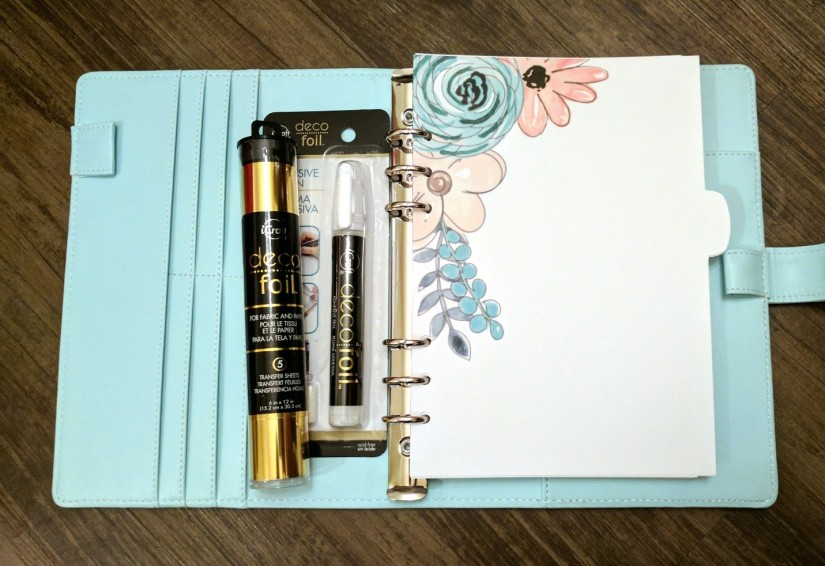 Adding Bling with DecoFoil and HTV