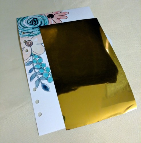 Adding Bling with DecoFoil and HTV5