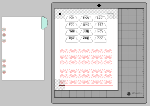Clear Glossy Labels to Protect Your Planner